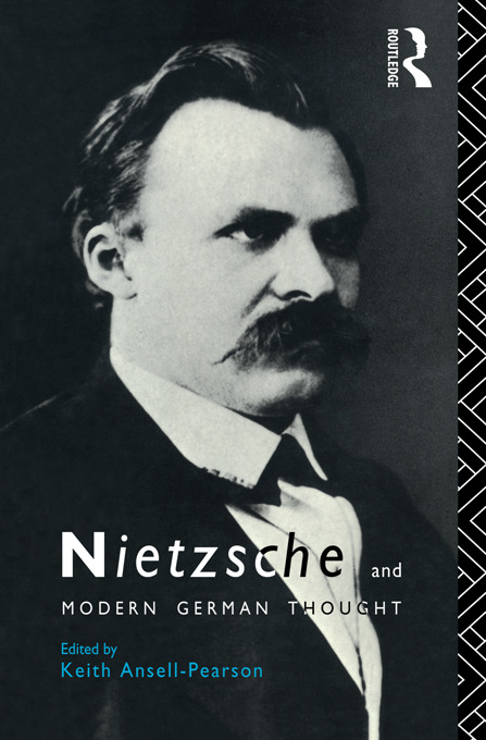 Nietzsche and Modern German Thought (Paperback) book cover