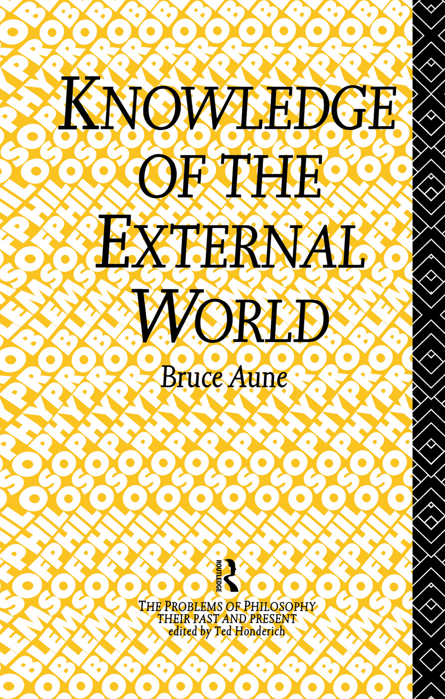 Knowledge of the External World (Hardback) book cover
