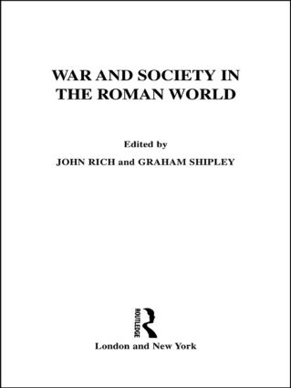 War and Society in the Roman World book cover