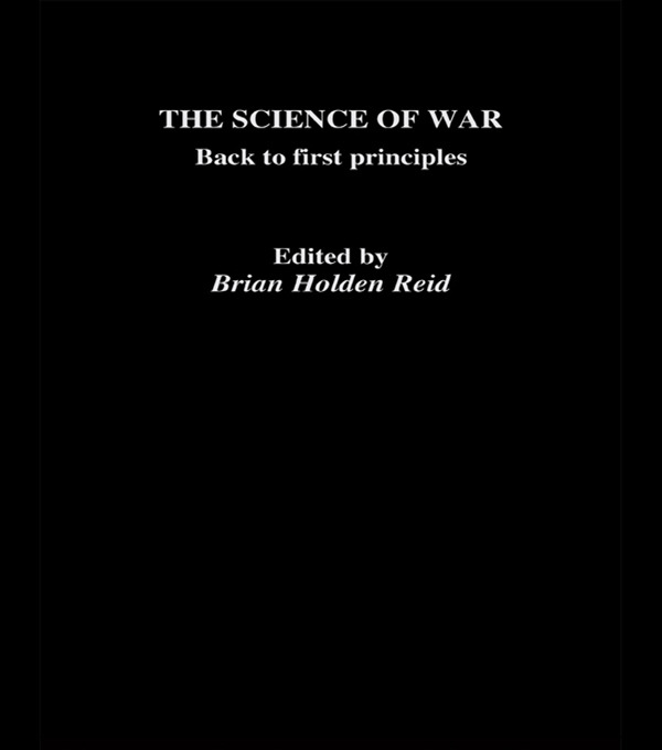 The Science of War: Back to First Principles, 1st Edition (Paperback) book cover