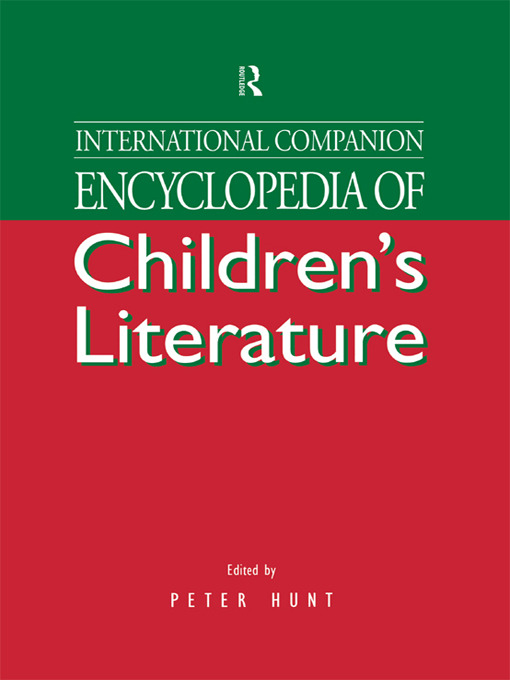 International Companion Encyclopedia of Children's Literature (Hardback) book cover