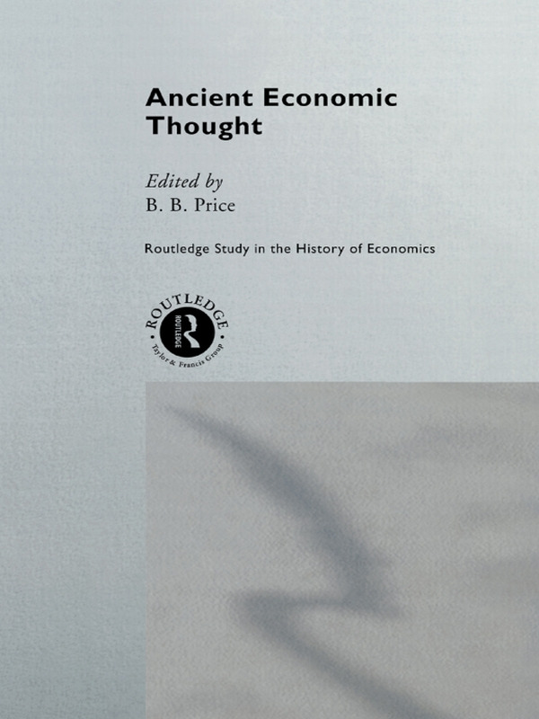 Ancient Economic Thought