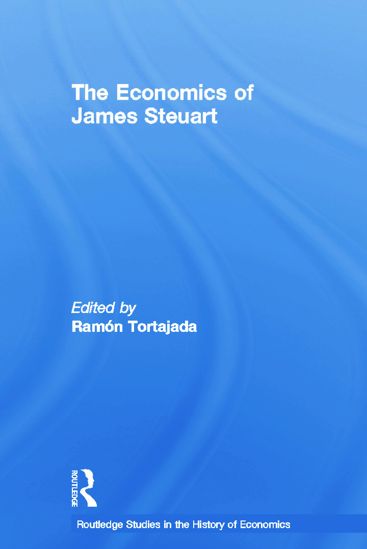 The Economics of James Steuart: 1st Edition (Paperback) book cover