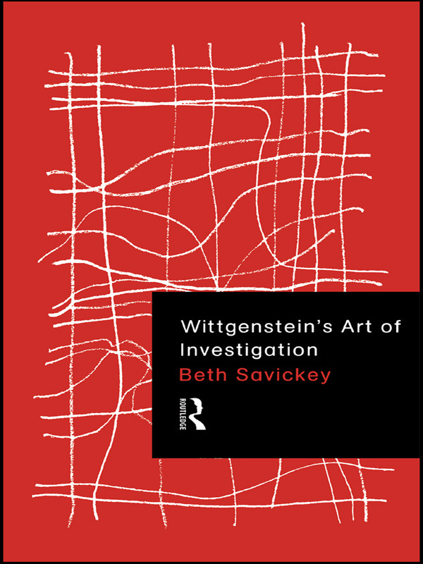 Wittgenstein's Art of Investigation