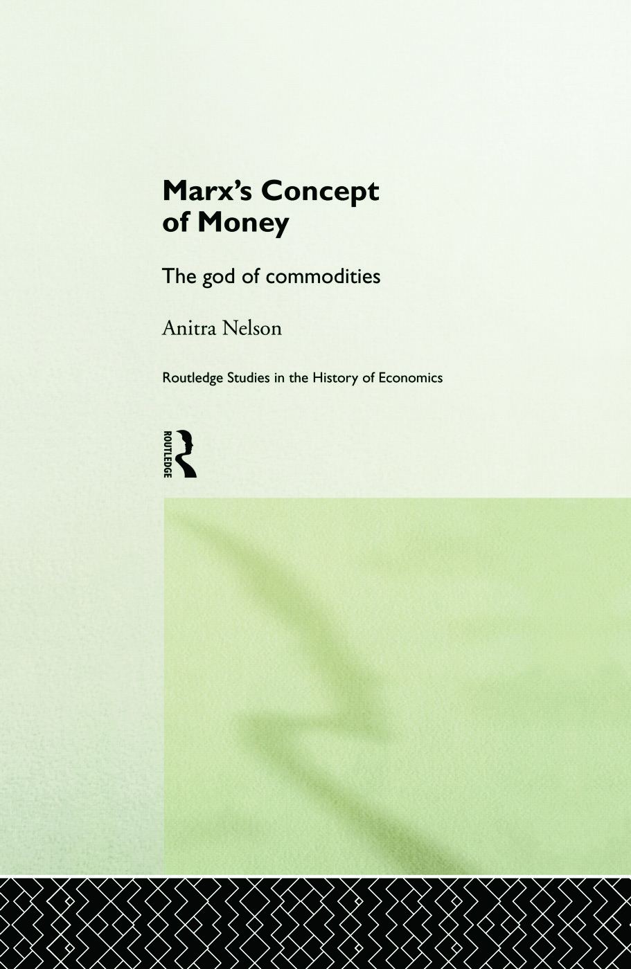 Marx's Concept of Money: 1st Edition (Paperback) book cover