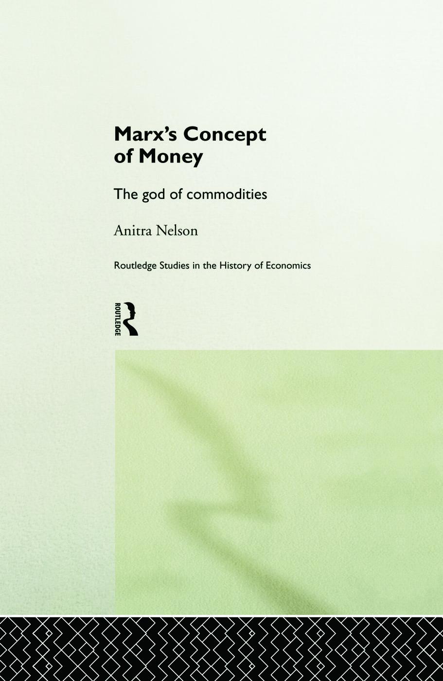 Marx's Concept of Money