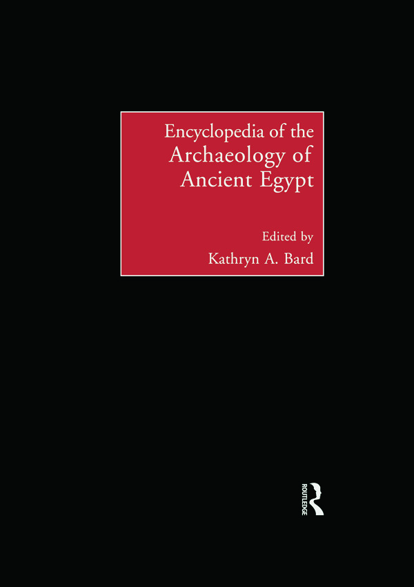 Encyclopedia of the Archaeology of Ancient Egypt: 1st Edition (Paperback) book cover