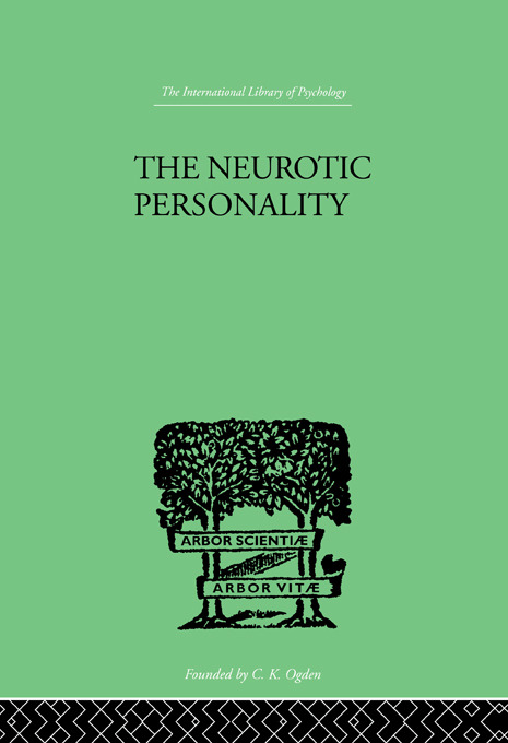 The Neurotic Personality (Paperback) book cover