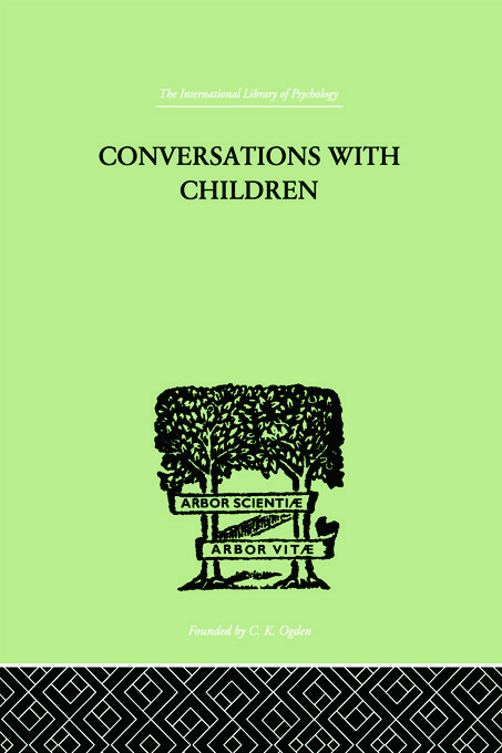 Conversations With Children: 1st Edition (Paperback) book cover
