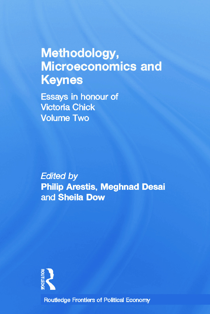 Methodology, Microeconomics and Keynes