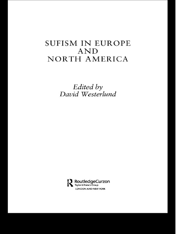 Sufism in Europe and North America: 1st Edition (Paperback) book cover