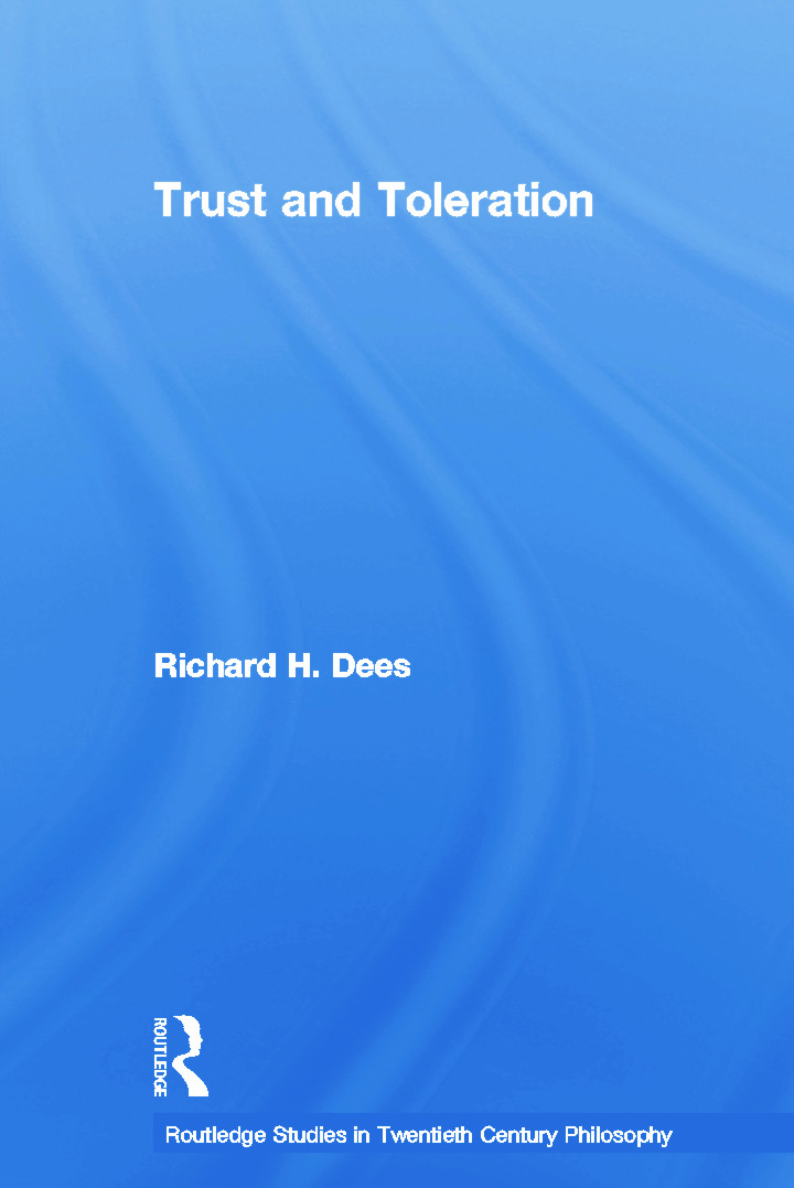 Trust and Toleration