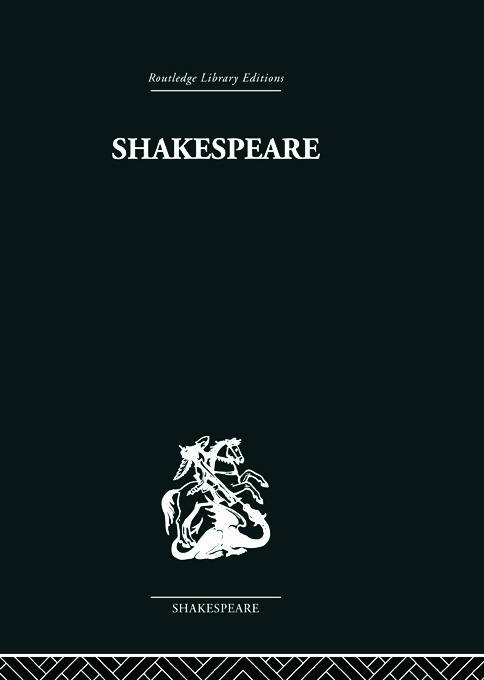 Shakespeare: The Poet in his World book cover