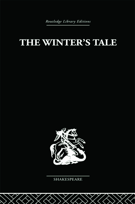 The Winter's Tale: A Commentary on the Structure book cover