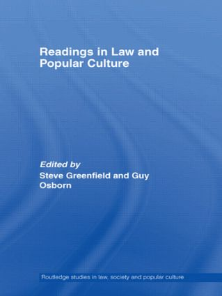 Readings in Law and Popular Culture: 1st Edition (e-Book) book cover
