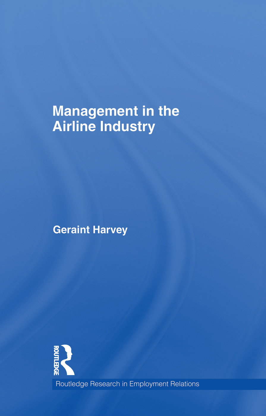 Management in the Airline Industry: 1st Edition (Paperback) book cover