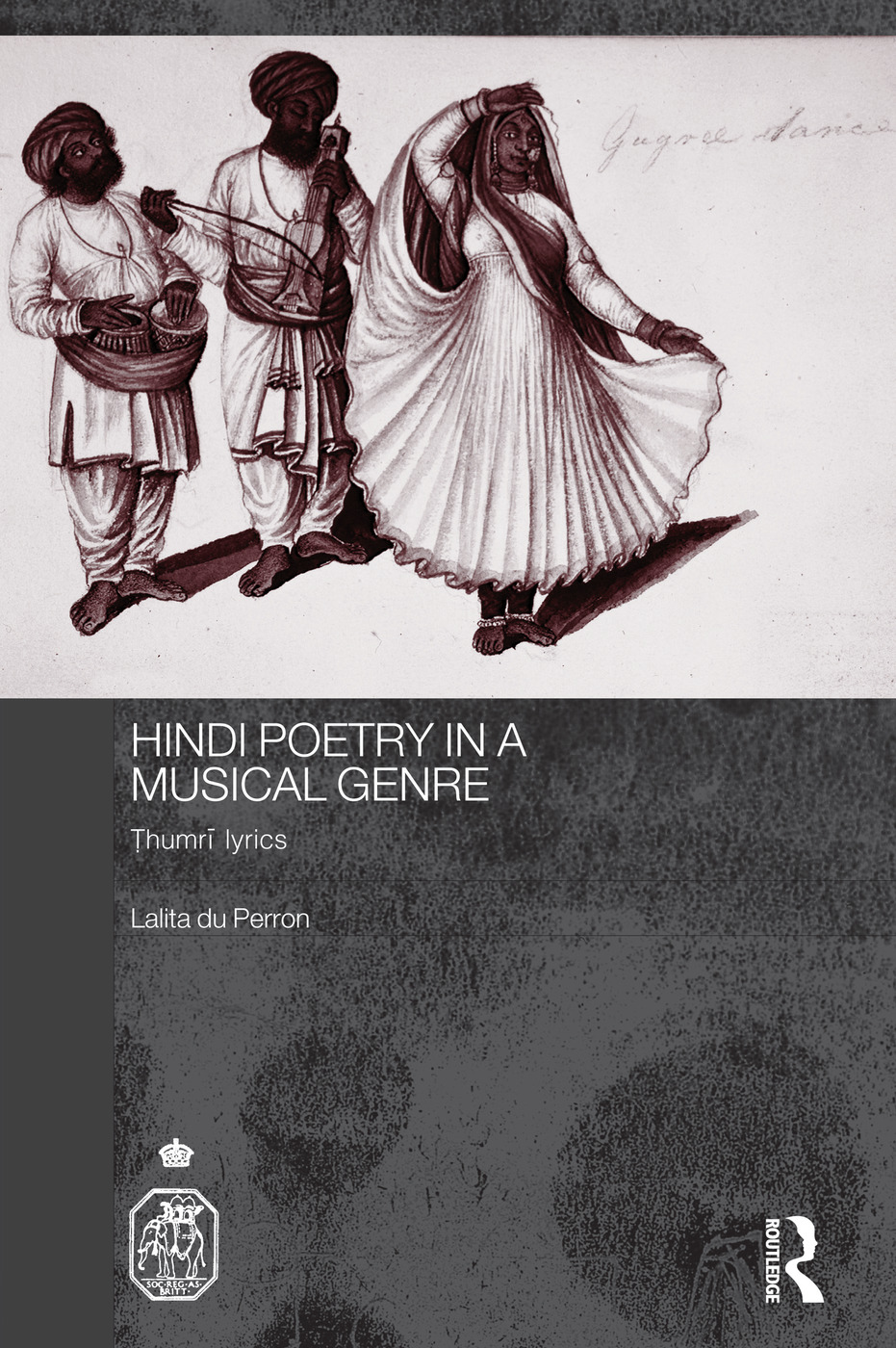 Hindi Poetry in a Musical Genre: Thumri Lyrics book cover