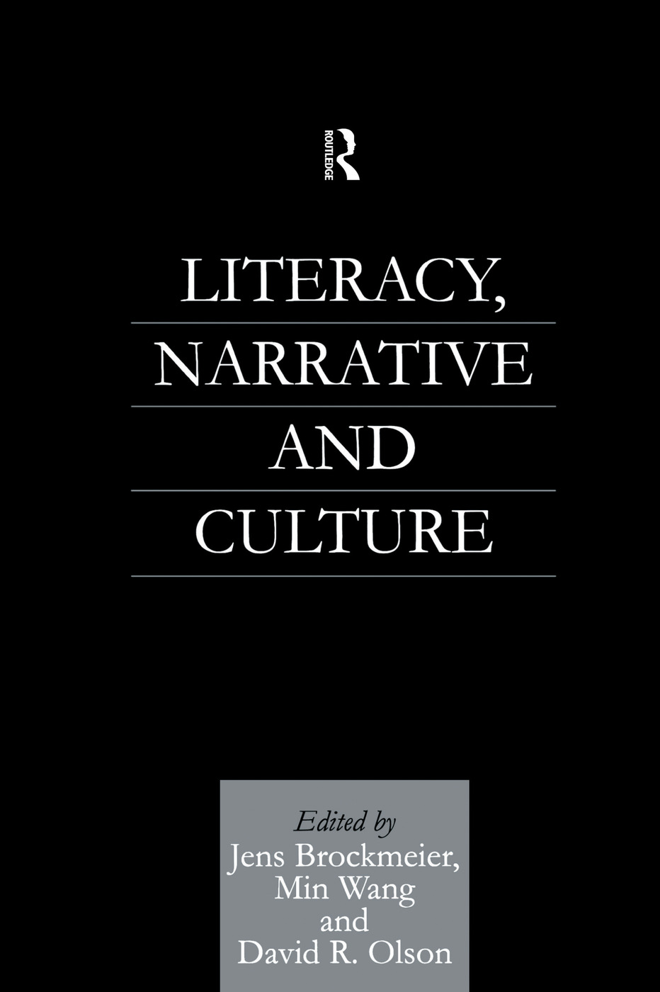 Literacy, Narrative and Culture (e-Book) book cover