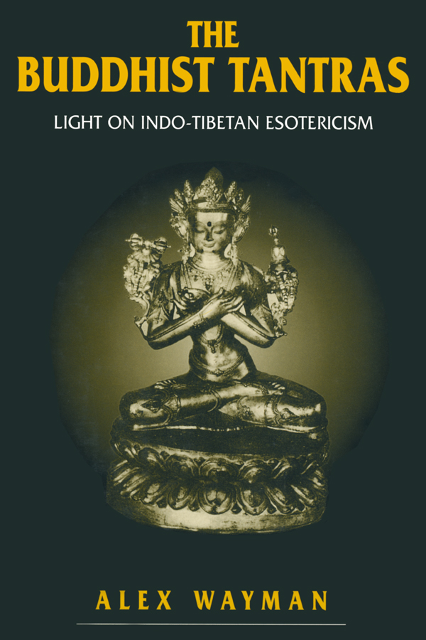Buddhist Tantras: 1st Edition (Paperback) book cover
