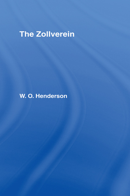 The Zollverein: 1st Edition (Paperback) book cover