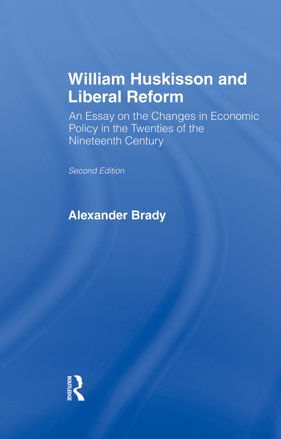 William Huskisson and Liberal Reform: 1st Edition (Paperback) book cover
