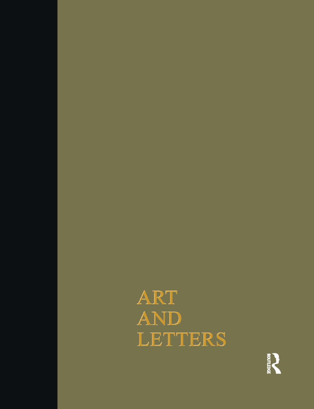 Art & Letters July-Winter1918 Cb: 2 Volumes, 1st Edition (Paperback) book cover