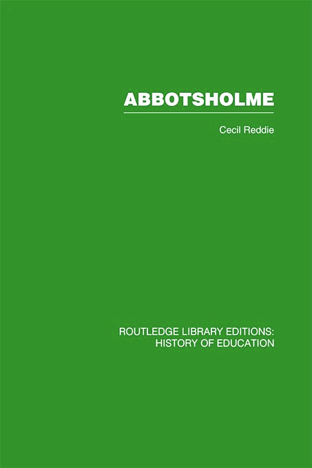 Abbotsholme: 1889-1899, 1st Edition (Paperback) book cover
