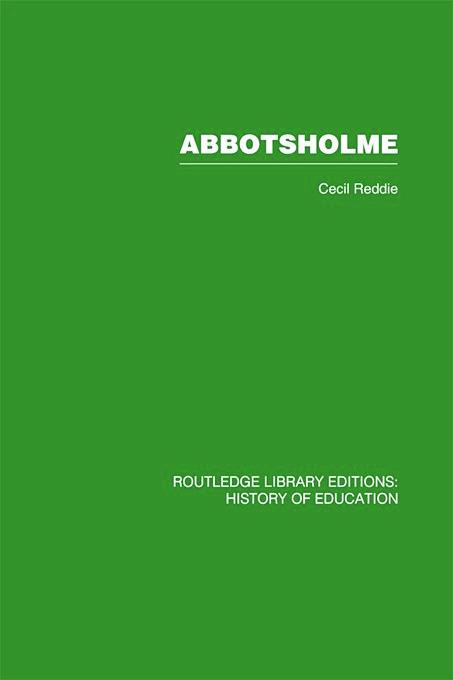 Abbotsholme: 1889-1899 book cover