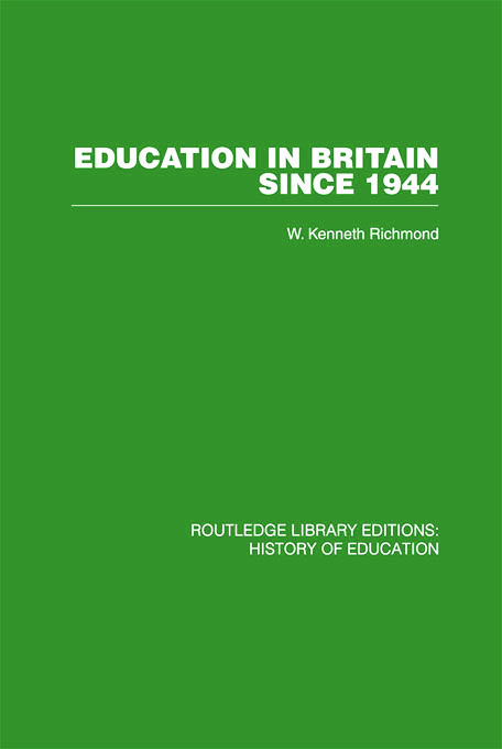 Education in Britain Since 1944 book cover
