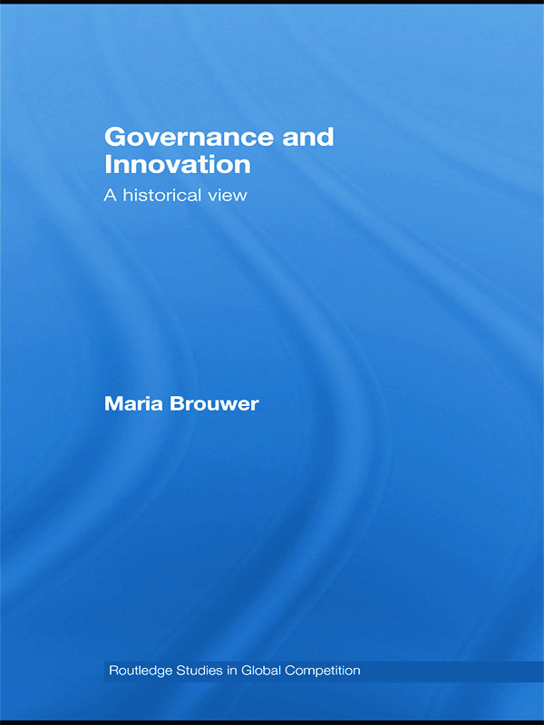 Governance and Innovation: A historical view book cover