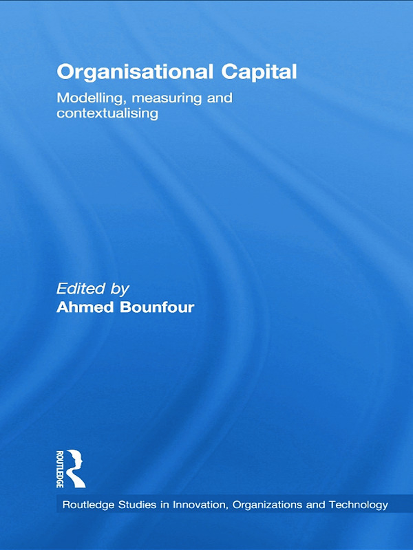 Organisational Capital: Modelling, Measuring and Contextualising book cover