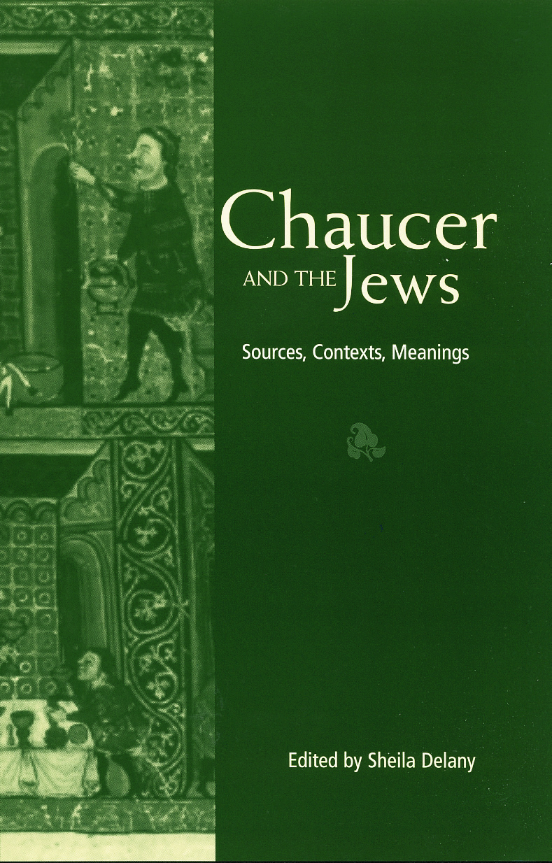 Chaucer and the Jews: 1st Edition (Paperback) book cover