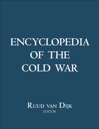 Encyclopedia of the Cold War: 1st Edition (e-Book) book cover