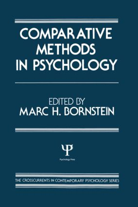 Comparative Methods in Psychology (Hardback) book cover