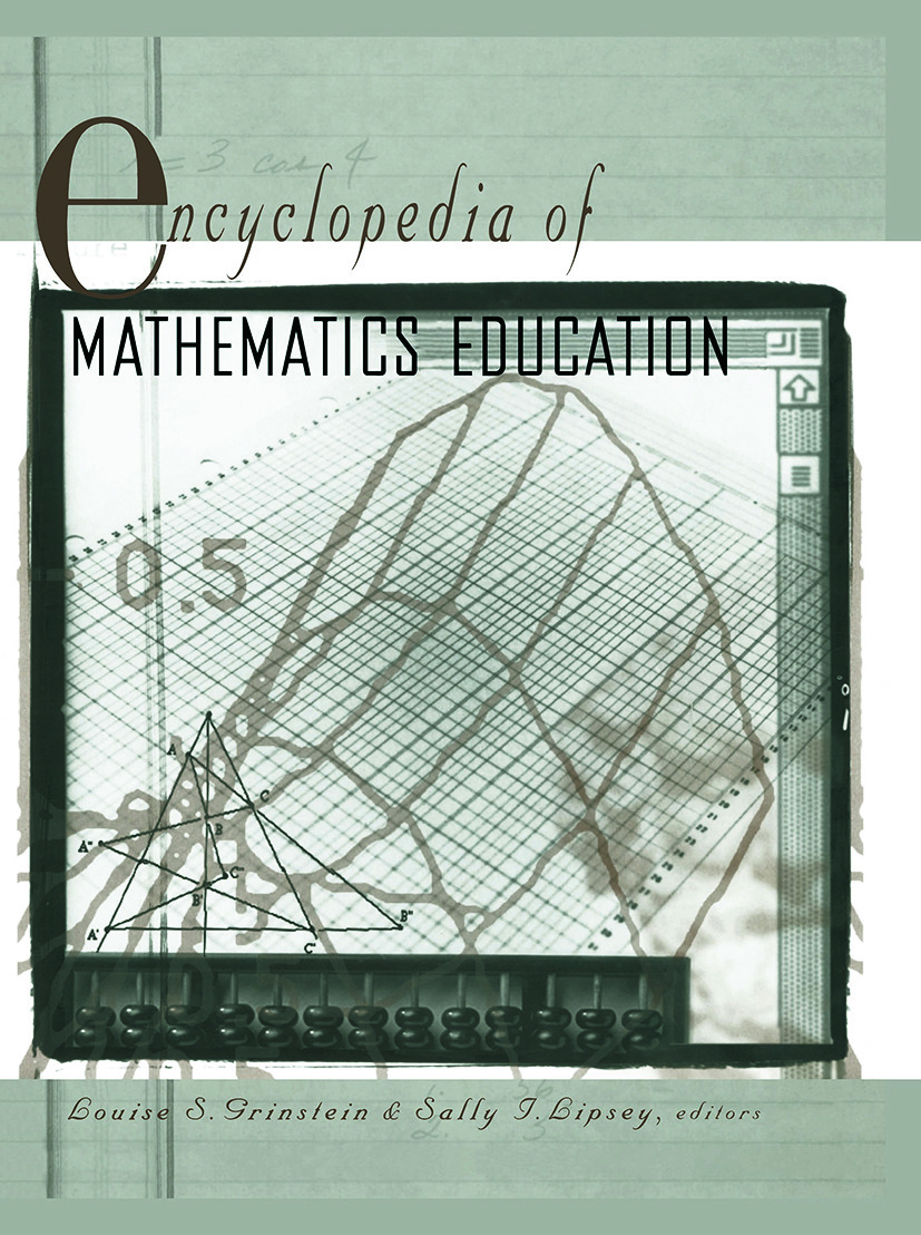 Encyclopedia of Mathematics Education: 1st Edition (Paperback) book cover
