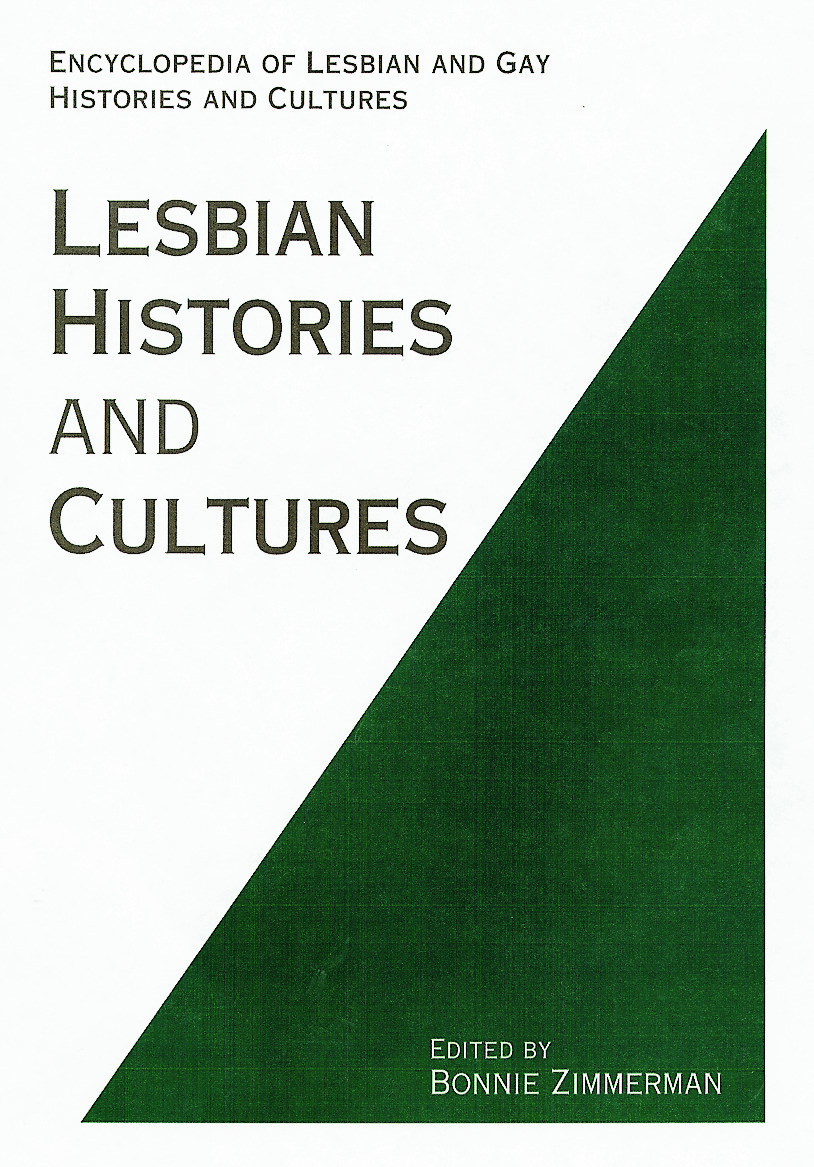 Encyclopedia of Lesbian Histories and Cultures book cover