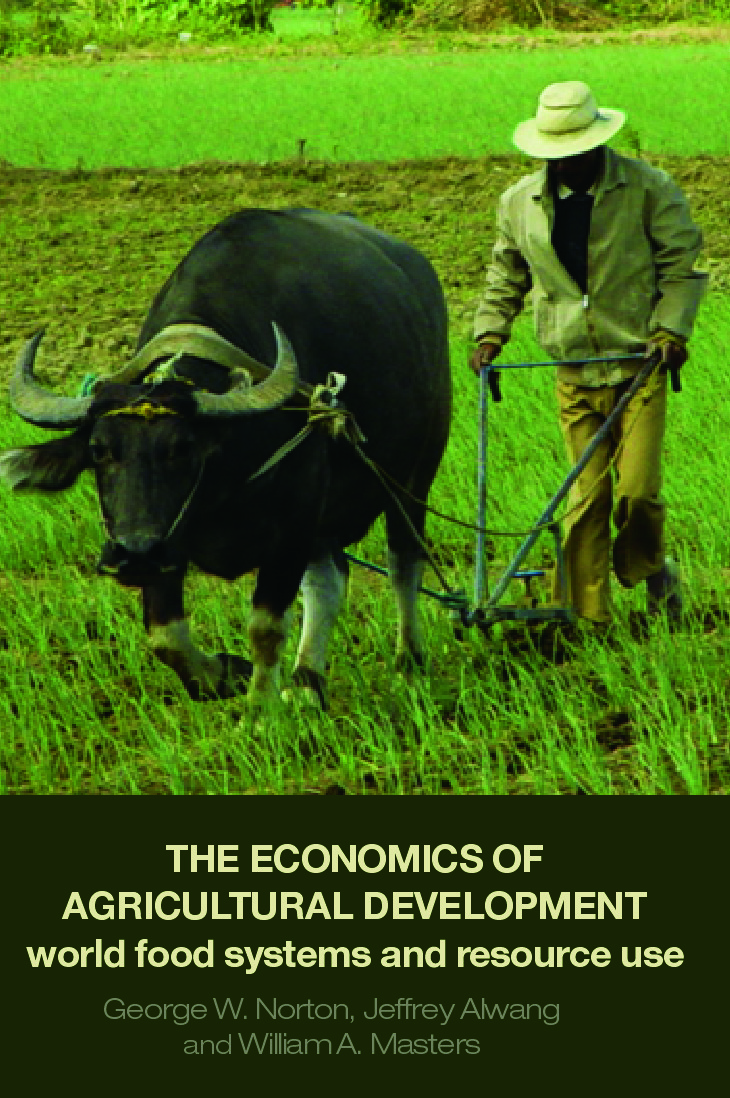 The Economics of Agricultural Development: World Food Systems and Resource Use (Paperback) book cover
