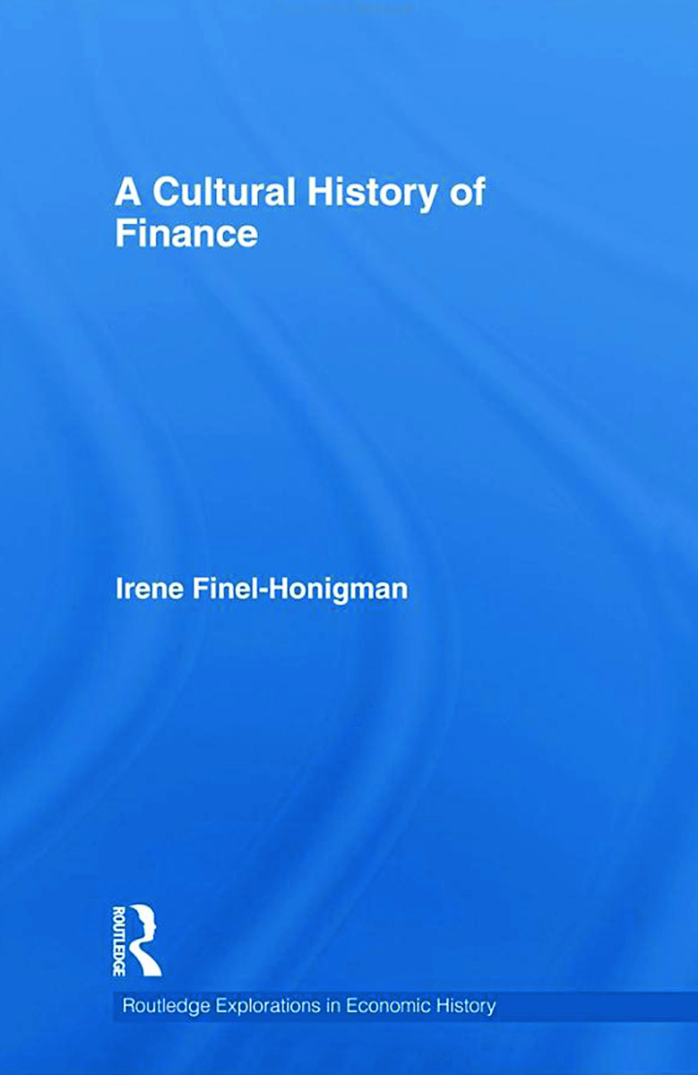A Cultural History of Finance (Hardback) book cover