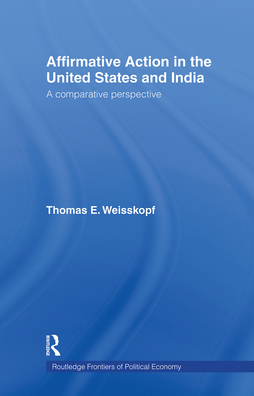Affirmative Action in the United States and India: A Comparative Perspective, 1st Edition (Paperback) book cover