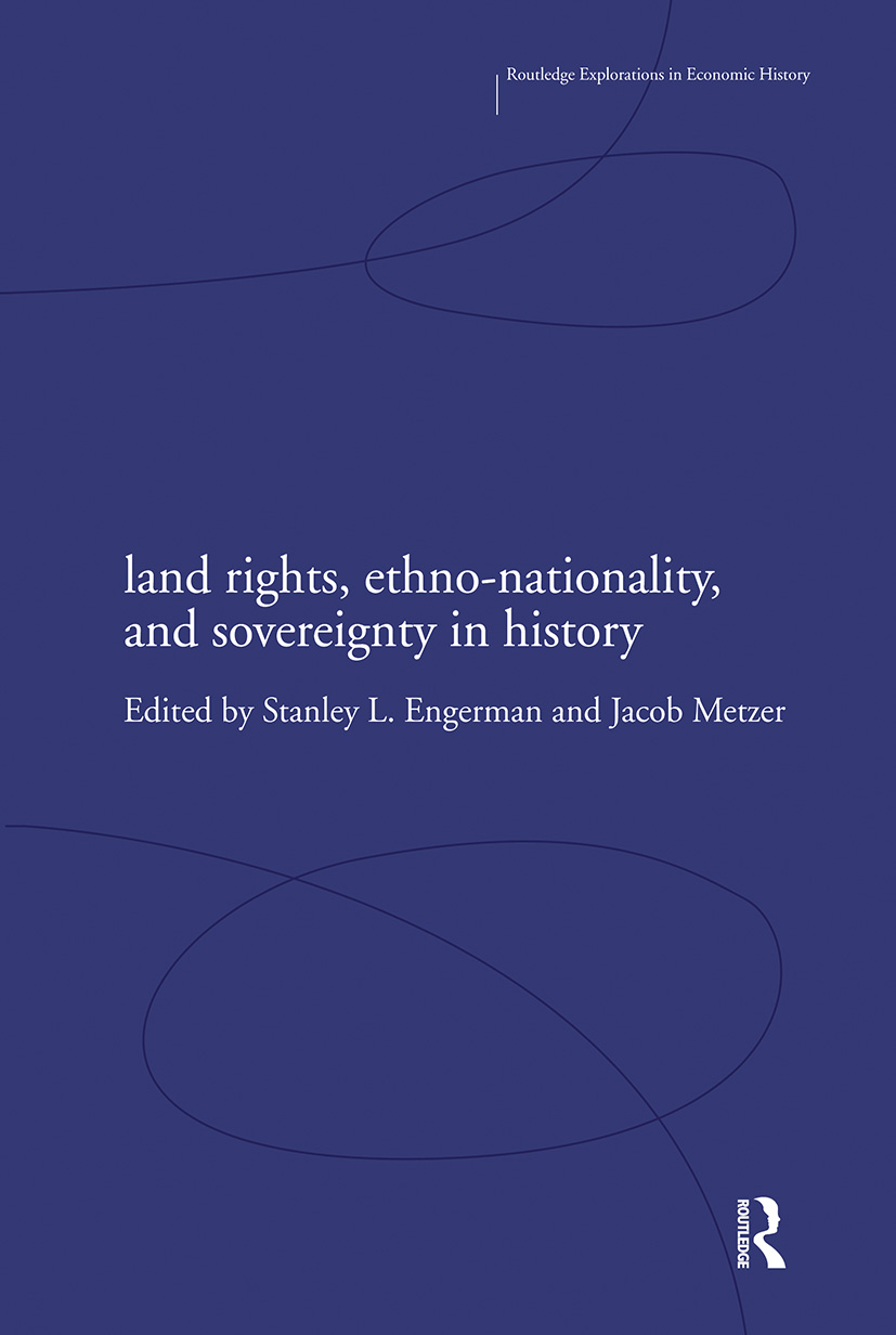 Land Rights, Ethno-nationality and Sovereignty in History (Paperback) book cover
