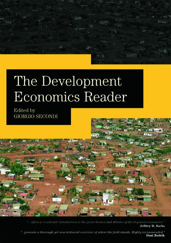 The Development Economics Reader book cover