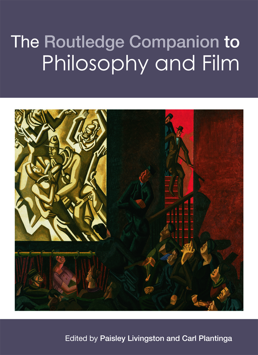 The Routledge Companion to Philosophy and Film (Hardback) book cover