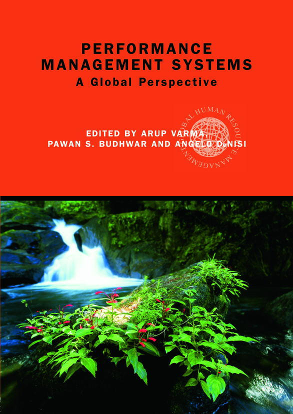 Performance Management Systems: A Global Perspective book cover