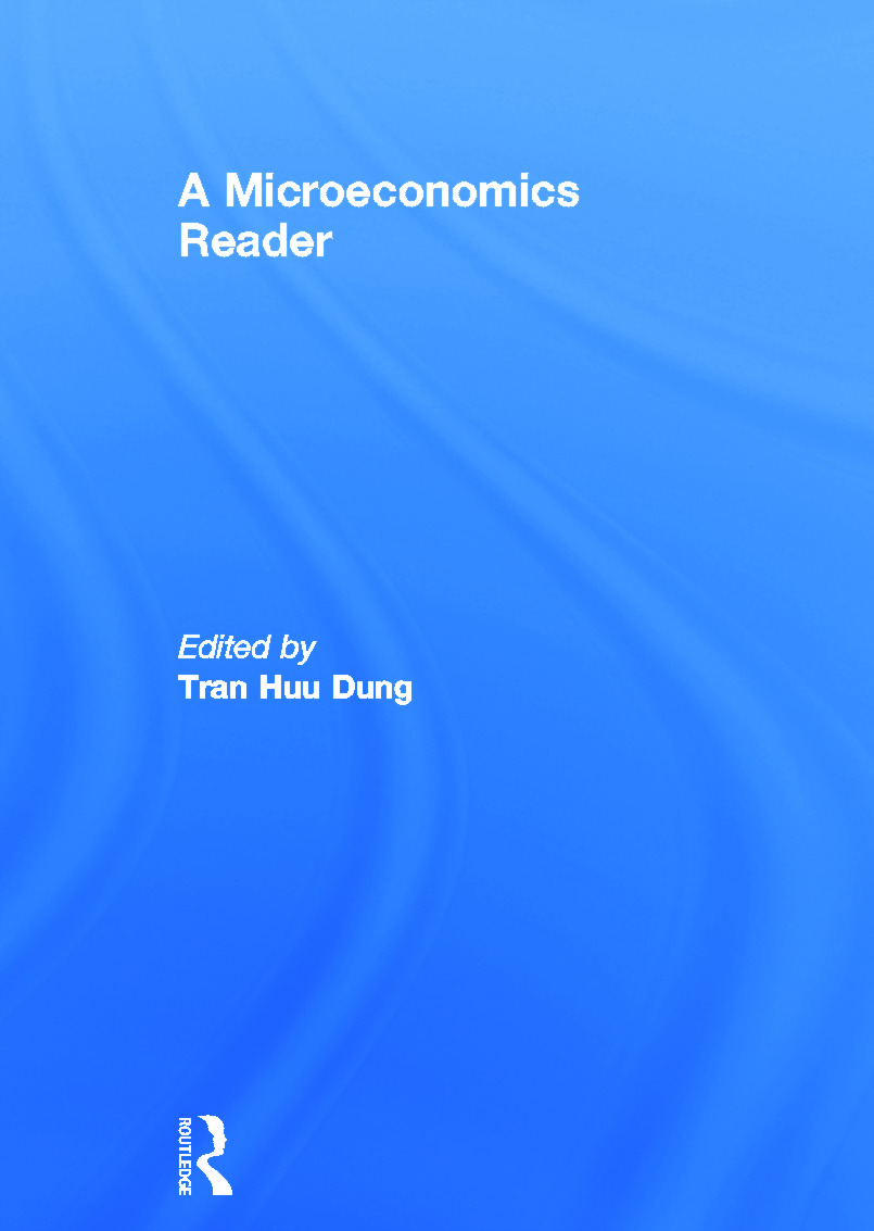 A Microeconomics Reader: 1st Edition (Hardback) book cover