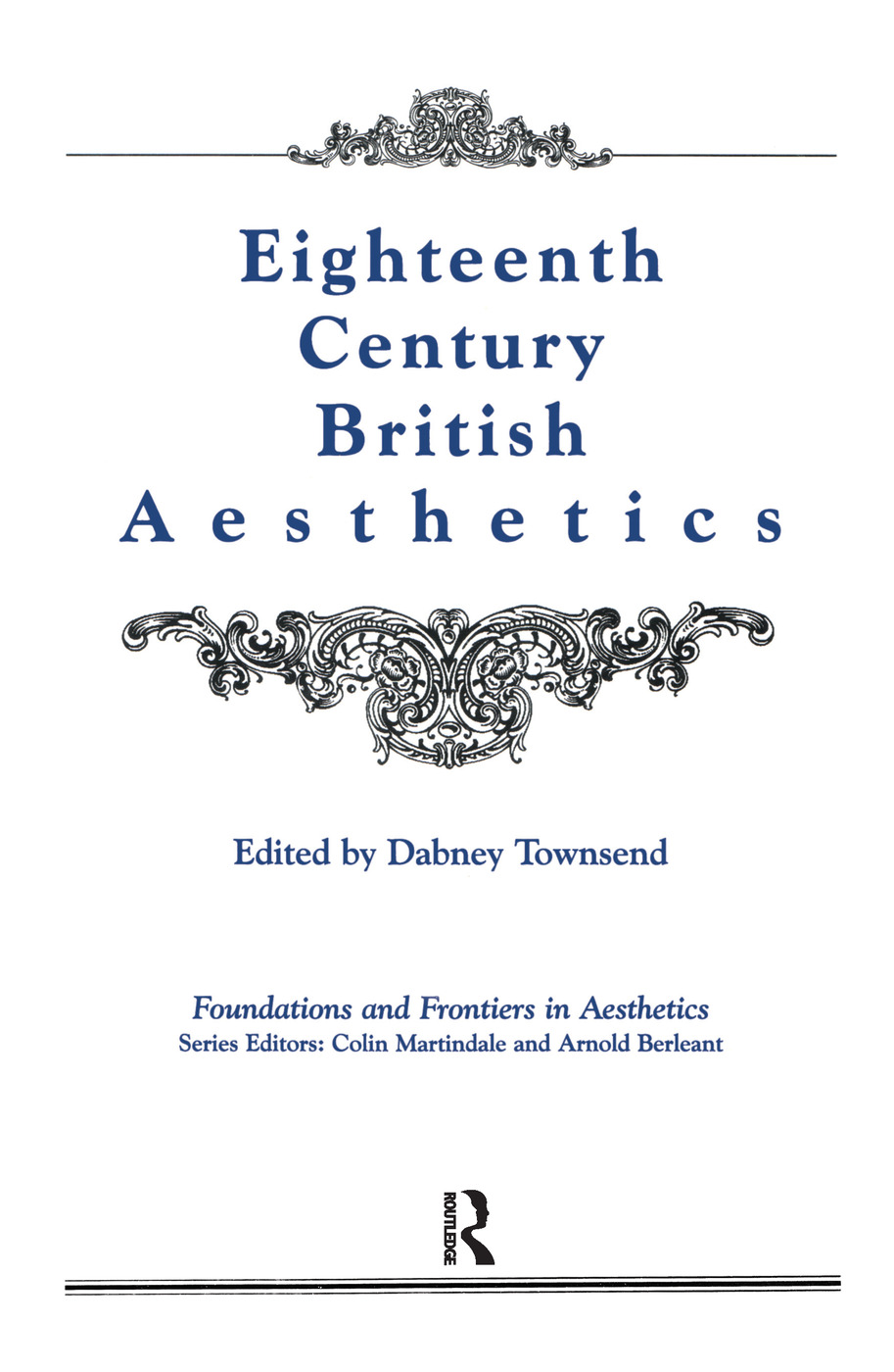 Eighteenth-Century British Aesthetics book cover