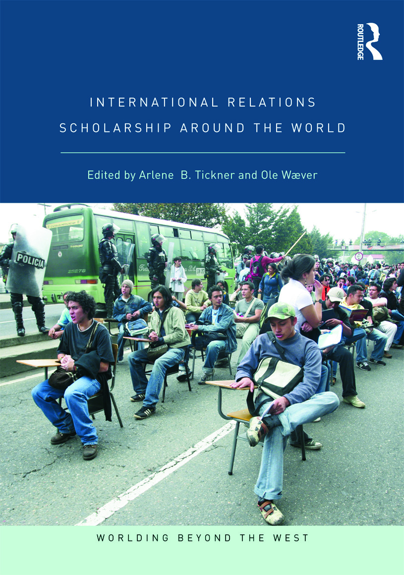 International Relations Scholarship Around the World: 1st Edition (Paperback) book cover