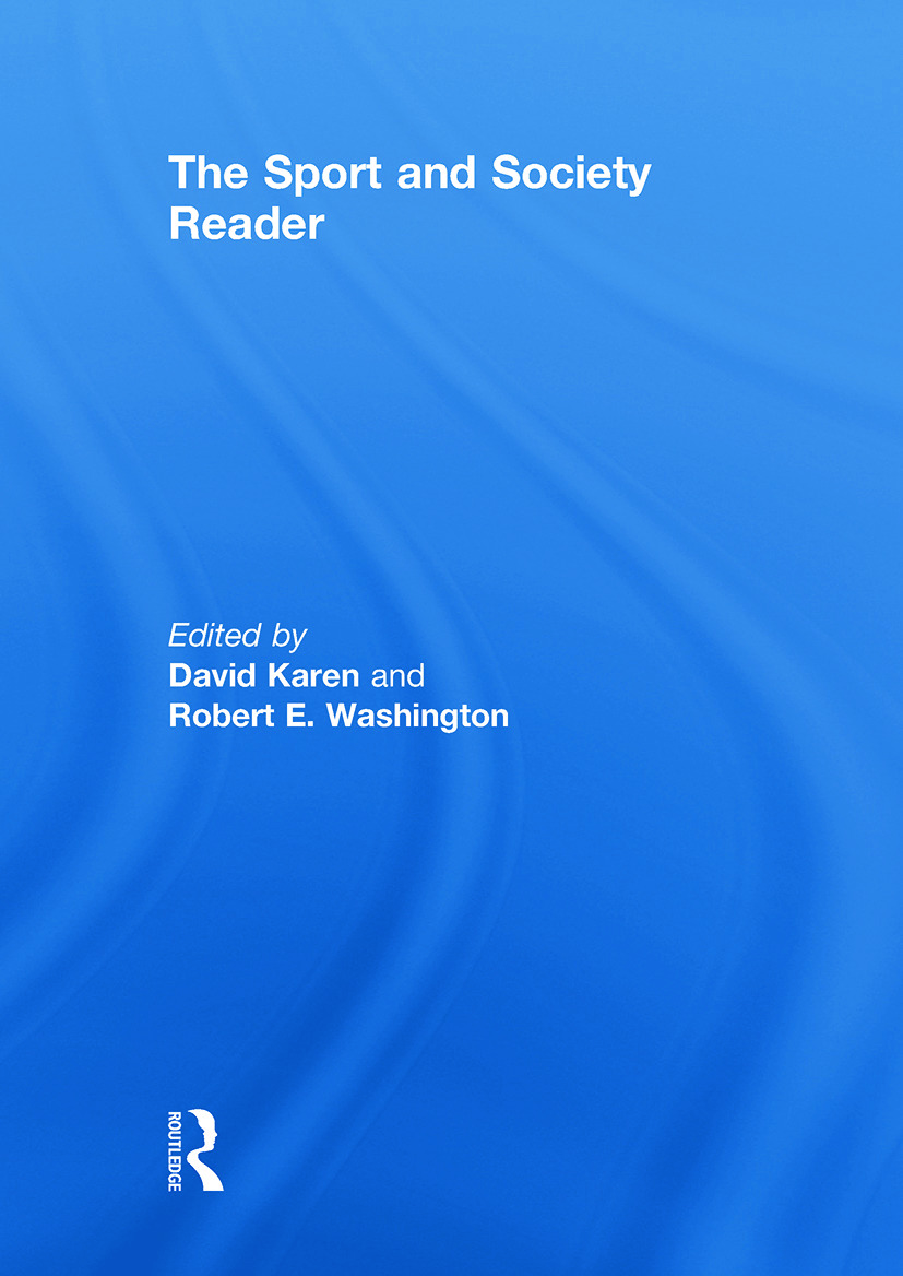 The Sport and Society Reader: 1st Edition (Hardback) book cover
