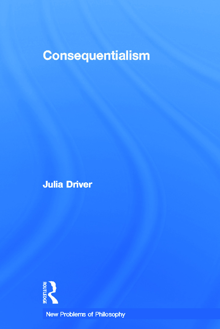 Consequentialism book cover