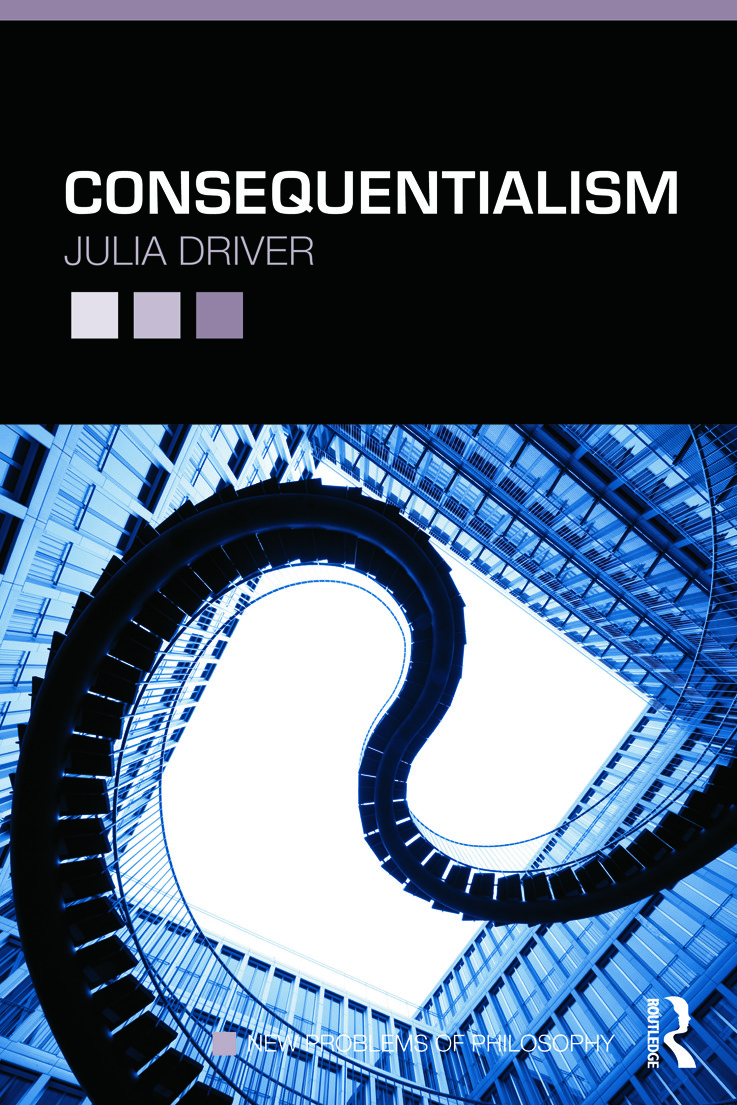 Consequentialism (Paperback) book cover