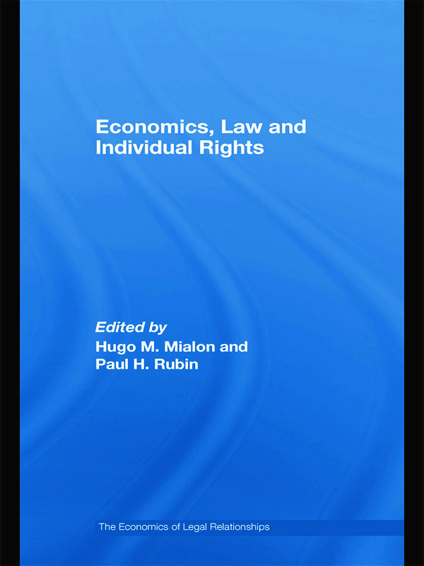 Economics, Law and Individual Rights (Hardback) book cover